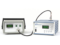 Measuring system Lambda LM: Measurement of thermal conductivity of liquids, powders, gels and nanoparticles, automated laboratory instrument including temperature control, ASTM D2717, ASTM D7896-14. Made in Germany.